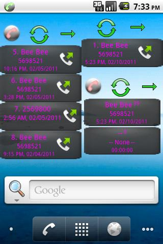 Home Screen Call Logs Donation- screenshot