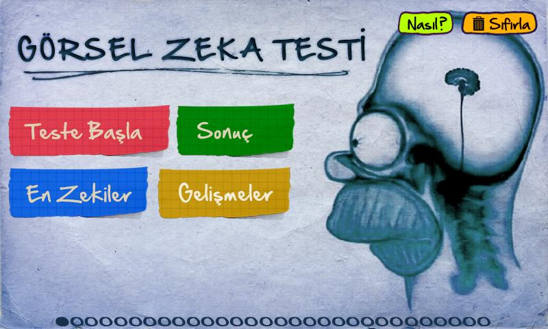 Görsel Zeka Testi - screenshot