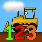 Kids Trucks Numbers & Counting icon