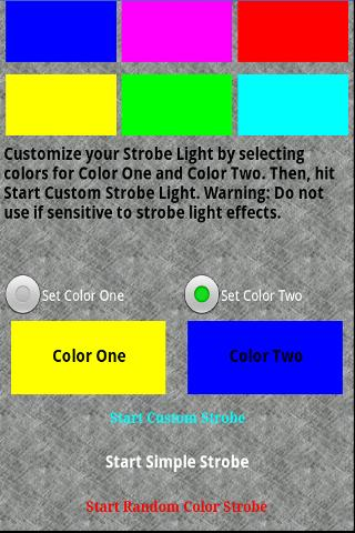 Strobe Light Express - screenshot