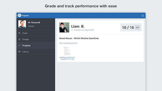 Edmodo - screenshot thumbnail
