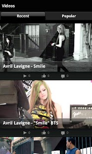 Avril Lavigne - screenshot thumbnail