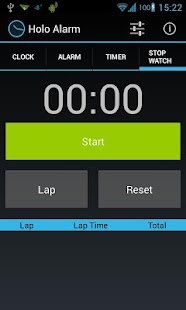 Holo Alarm, Timer, Chrono- screenshot thumbnail