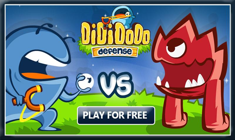 Dididodo Defense: Cool Games- screenshot
