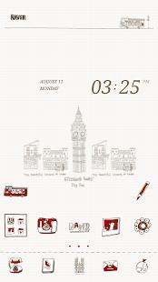 Hi London dodol launcher theme