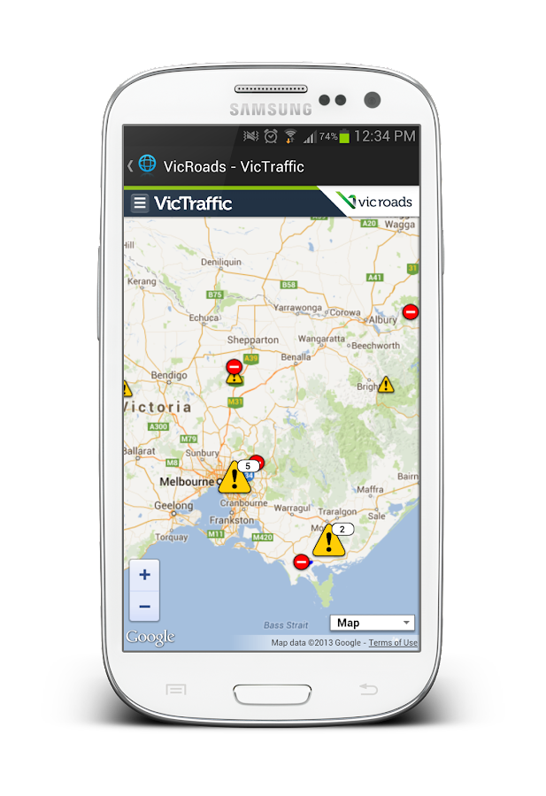 Melbourne & Victoria Alert- screenshot