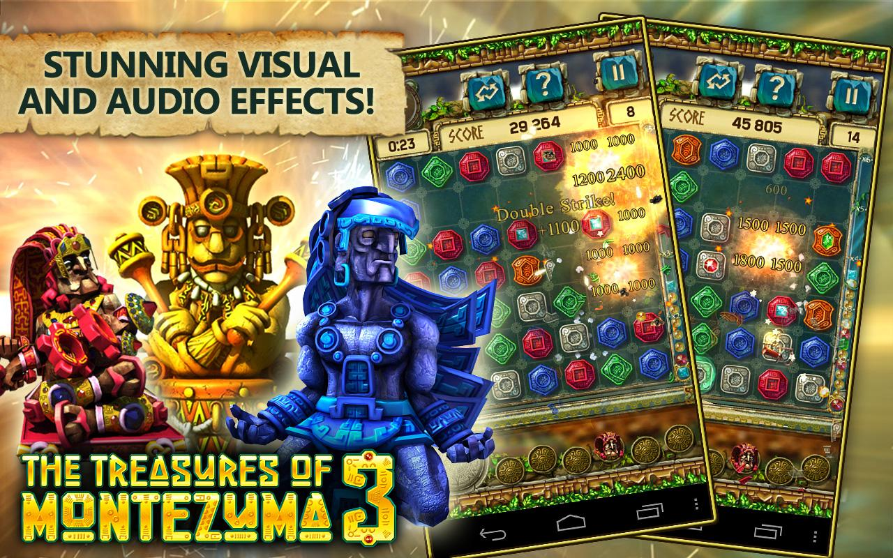 Treasures of Montezuma 3 free- screenshot