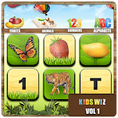 Kidswiz ABC Fruits 123 Animals