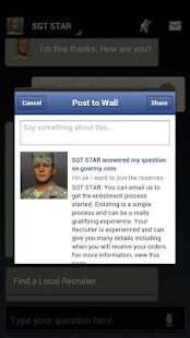SGT STAR: Army's Virtual Guide - screenshot thumbnail