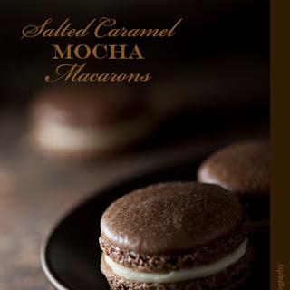 Salted Caramel Mocha Macarons