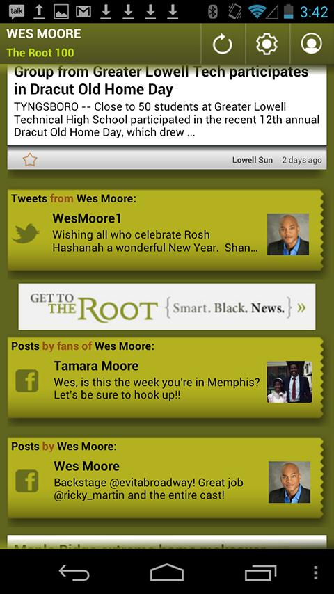 Wes Moore: The Root 100 - screenshot