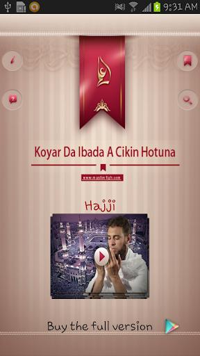 Koyar Da Ibada - Hajji