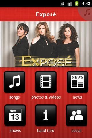 Exposé - screenshot