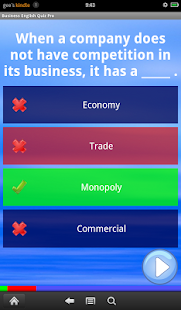 Business English Quiz Pro - screenshot thumbnail