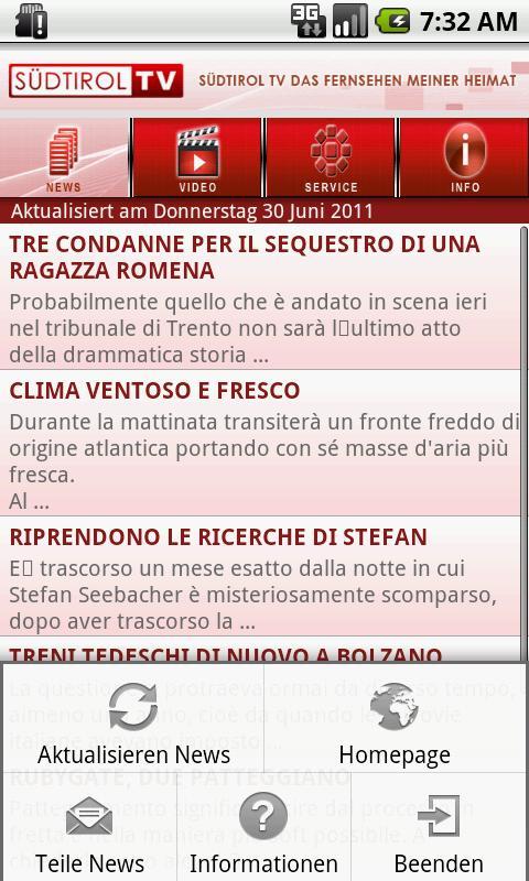 Südtirol TV- screenshot