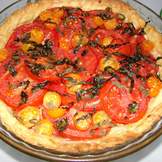 Aunt Mary's Tomato Tart.
