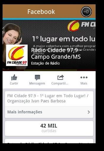 【免費音樂App】Rádio Cidade Fm 97,9-APP點子