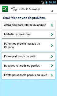 application android solution voyage desjardins