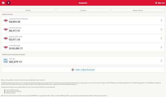 Bank of America Mobile Banking Screenshot 24