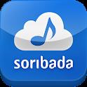 소리바다-뮤직, 무제한음악감상 logo