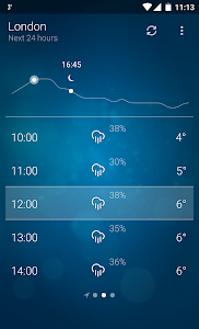 Weather screenshot 2