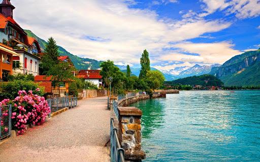 自然 パズル - スイス