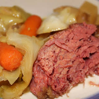 Guinness Corned Beef & Cabbage.