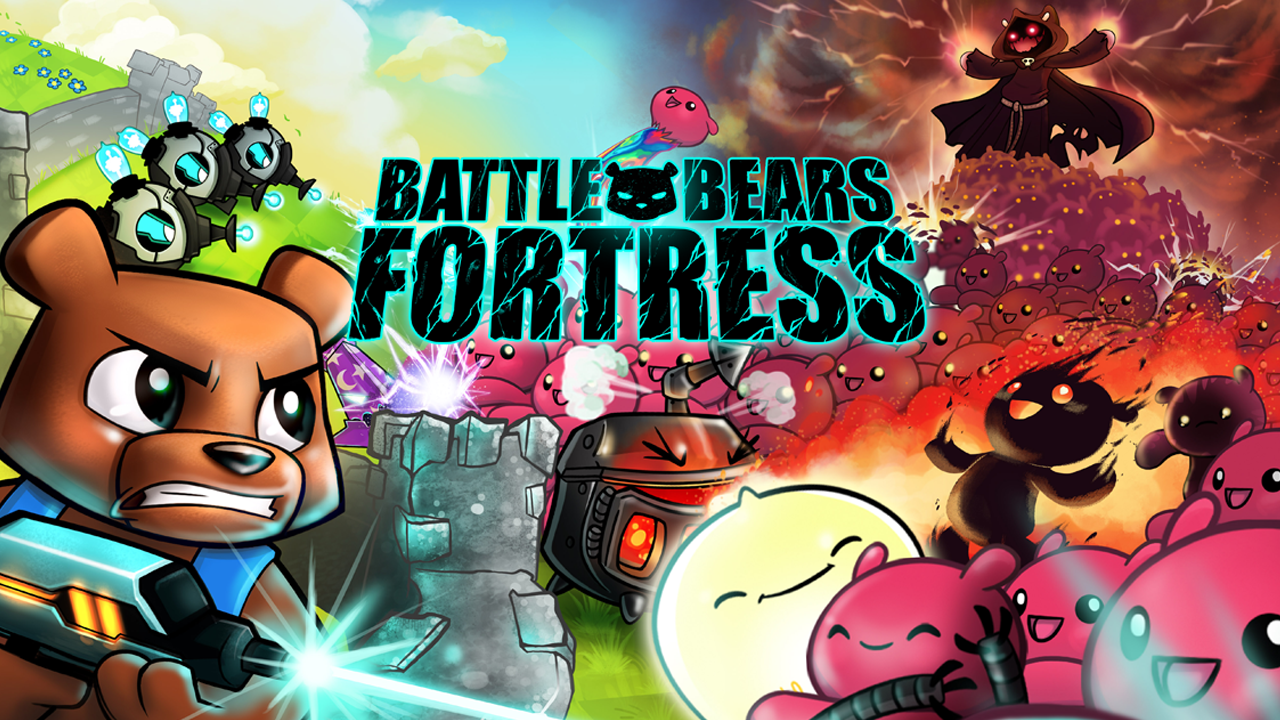 Battle Bears Fortress - screenshot