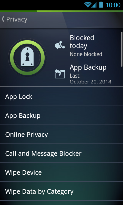AntiVirus PRO Android Security - screenshot