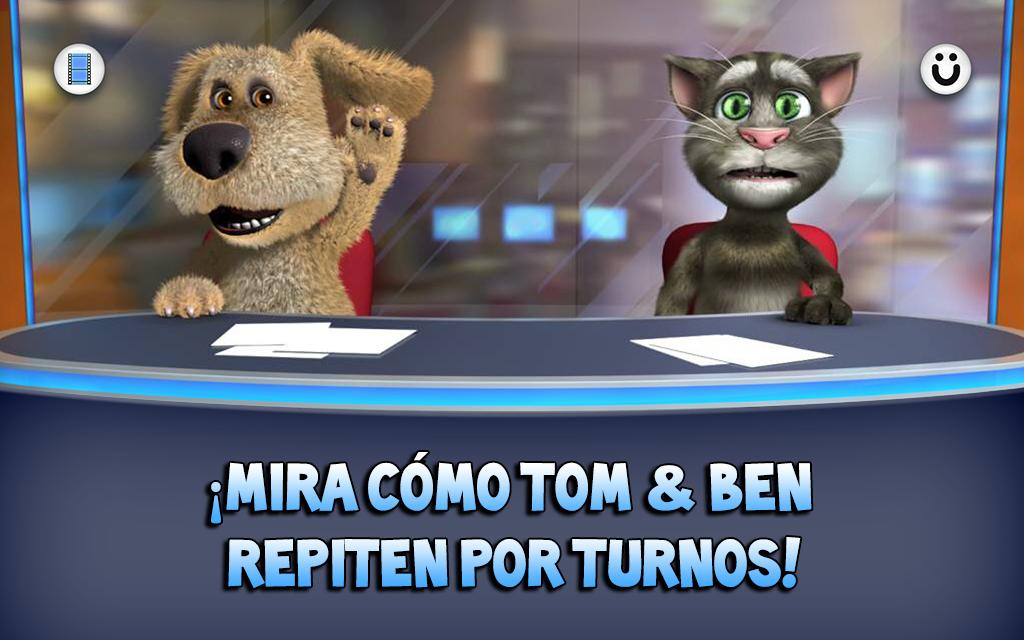 Talking Tom & Ben News: captura de pantalla