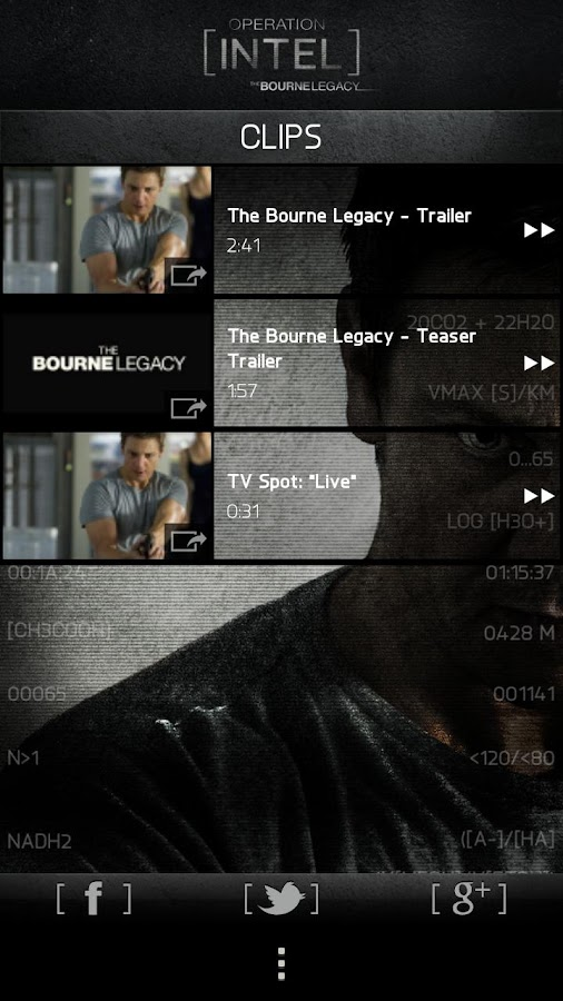 Bourne Legacy: Operation Intel - screenshot