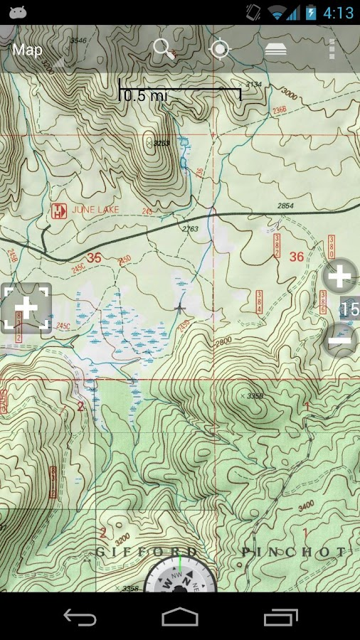 BackCountry Navigator PRO GPS - screenshot
