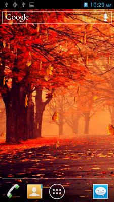 Autumn HD Live Wallpaper - screenshot