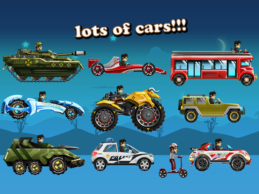 Up Hill Racing: Car Climb Spiele (apk) kostenlos herunterladen für Android/PC/Windows screenshot