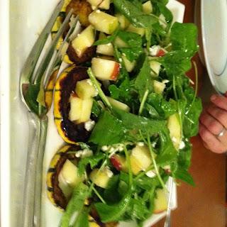 Arugula, Delicata, and Honeycrisp Salad Recipe