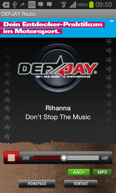 DEFJAY Radio - 100% R&B- screenshot