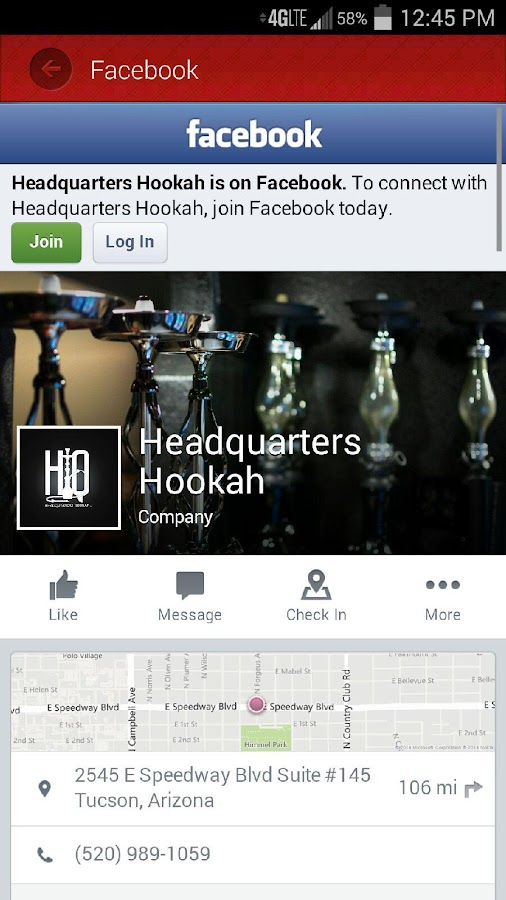 Headquarters Hookah- screenshot