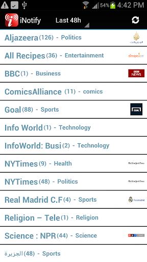 iNotify: News Aggregator