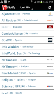 iNotify: News Aggregator- screenshot thumbnail