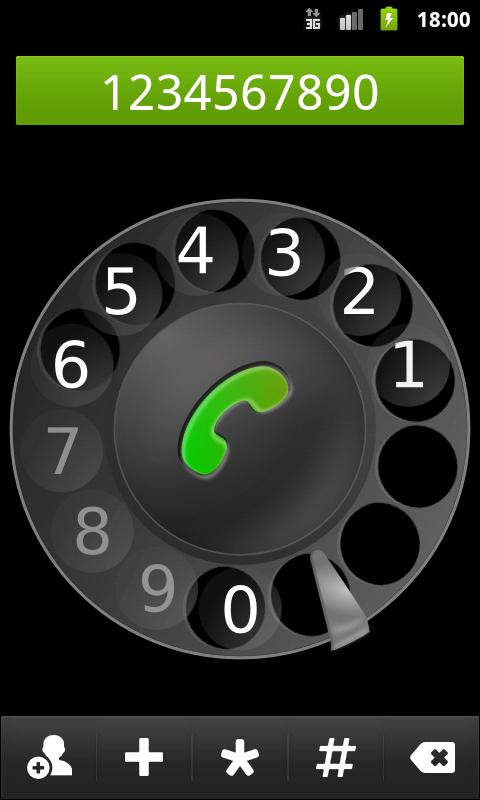 Old School Dialer - screenshot