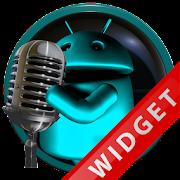 Poweramp Widget Lightblue Droi