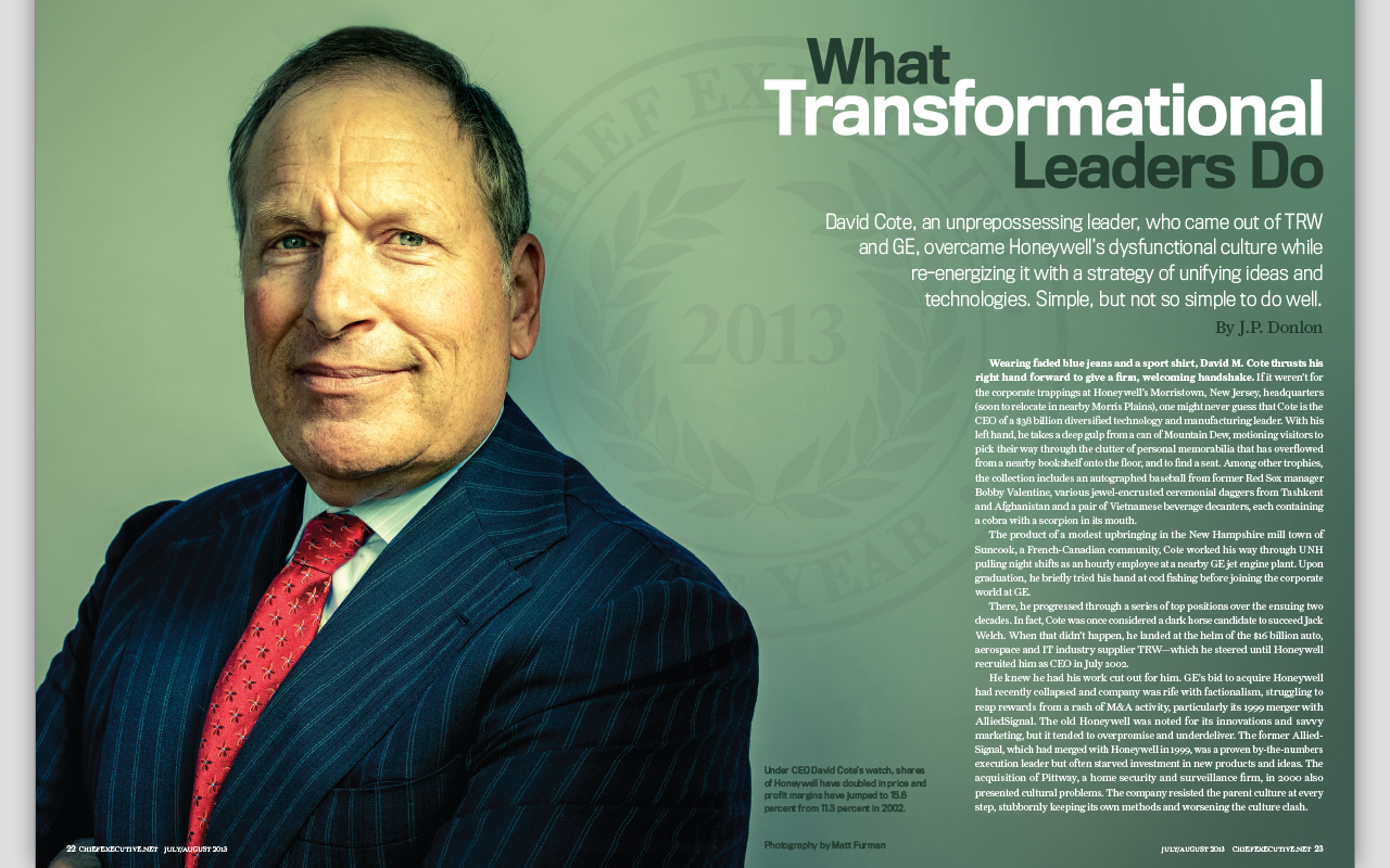 Chief Executive Magazine - screenshot