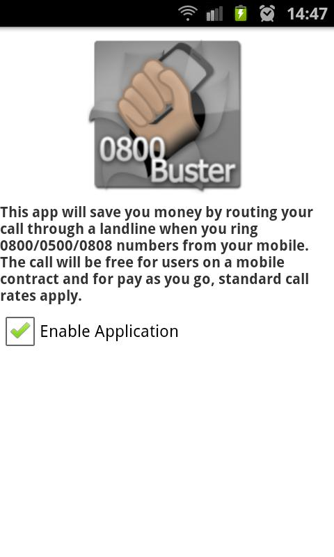 0800 Buster Lite - screenshot