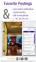 Screenshot of cPro Craigslist Mobile Client