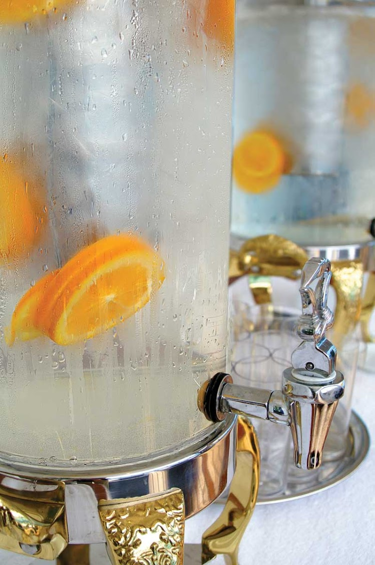 Keep hydrated during your weight and cardio workout in the Canyon Ranch SpaClub aboard the Oceania Insignia.
