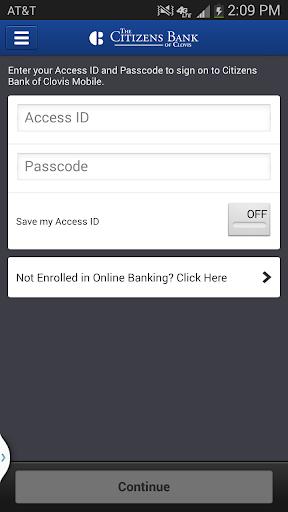 Citizens Bank of Clovis Mobile