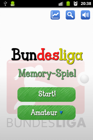 Bundesliga Memory Spiel - screenshot