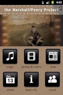 the Marshall/Peery Project - screenshot thumbnail