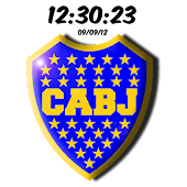 Boca Juniors Digital Clock