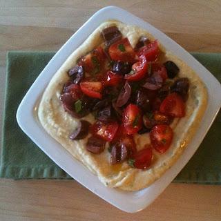Layered Mediterranean White Bean Dip